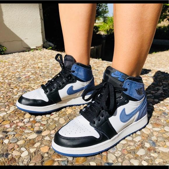 Jordan Shoes Air 1 Blue Moon Poshmark